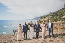 small destination wedding ideas an intimate destination wedding in big sur california brides