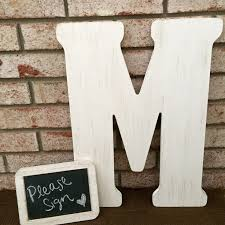 monogrammed guest book 25 best letter guest book ideas on guest books