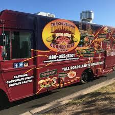 glitter truck the cleveland corned beef company phoenix food trucks roaming