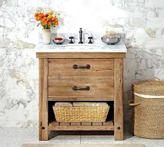 Pine Bathroom Vanity Cabinets by Vanities 60 Reclaimed Wood Double Vanity 24 Benoist Reclaimed