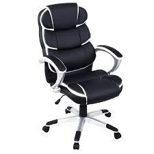 Ergonomic Home Office Desk by Unique High Back Executive Pu Leather Ergonomic Office Desk