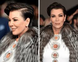 kris jenner haircut side view pixie haircuts for older women