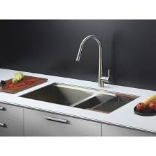 ruvati rvf1221k1bn pull down kitchen faucet with soap dispenser