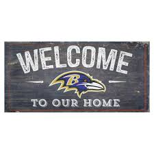 ravens distress welcome sign