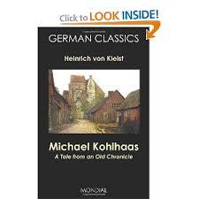 Seeking Based On Book Michael Kohlhaas By Heinrich Kleist This Novella Based