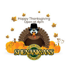 have a great thanksgiving day shenanigansbar u0026grill shenanigansbarg twitter