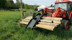 skid steer pallet fork grapple by cid attachments