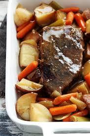slow cooker beef roast creme de la crumb
