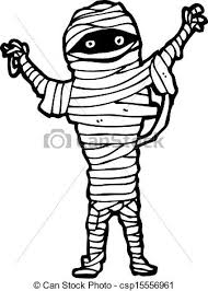 halloween mummy cartoon clip art vector search drawings and