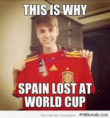 Spain Meme - 19 why spain lost the world cup meme pmslweb