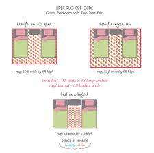 How Big Is A 3x5 Rug How To Choose The Right Rug For Every Room In Your House