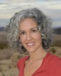 pictures of womens short dark hair with grey streaks going to stop the coloring and go to my natural gray hope it