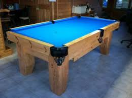 build a pool table table