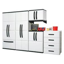 plastic wall storage cabinets strikingly design ideas home depot plastic storage cabinets modest
