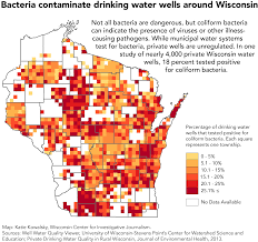 Map Of Wisconsin by Bacteria In State U0027s Drinking Water Is U0027public Health Crisis