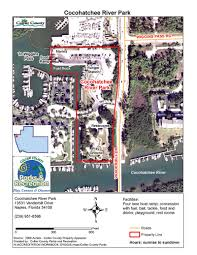 Naples Florida Map Beach And Boat Parks Collier County Fl