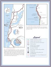 Oregon Beaches Map by Oregon Coast Bike Route Maplets