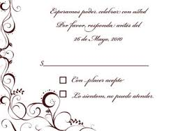 Wedding Rsvp Wording Examples Wedding Invitation Rsvp Wording In Spanish Matik For