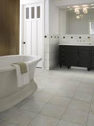 Bathroom Vanity Tile Ideas by Bathroom Grey Porceline Tile Flooring White Toilet Seat Dark