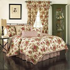 Quilted Bed Valance Waverly Comforters U0026 Bedding Sets For Bed U0026 Bath Jcpenney