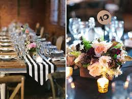 black white striped table runner black and white striped table runners wedding table designs