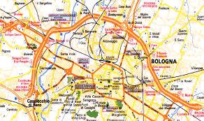 map of bologna how to reach bologna