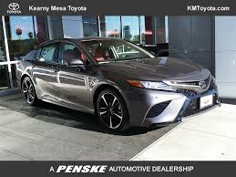 2018 new toyota camry xse automatic at kearny mesa toyota serving