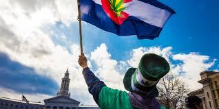Colorado Flags At Half Mast God Guns And Ganja Colorado Is The Future Of American Politics