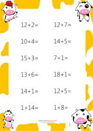 vertical addition worksheets sumas verticales pinterest