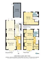 orchard close watford wd17 4 bedroom semi detached house for