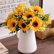 silk sunflowers cheap artificial flowers online artificial flowers for 2018