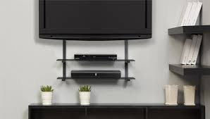 Floating Shelves Entertainment Center by Wall Shelves Design Fabulous Glass Tv Shelves Wall Mount Under Tv