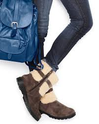 womens ugg leona boots expensive but so walking dead ugg blayre shearling cuffed