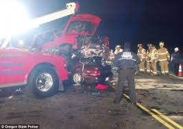 oregon woman killed in thanksgiving car crash with pickup truck