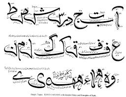 urdu font urdu calligraphy pinterest fonts