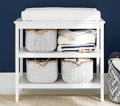 Changing Table Shelf Hayden Changing Table Pottery Barn