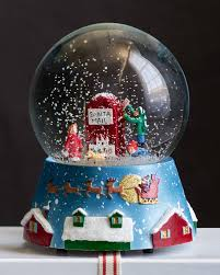 thanksgiving snow globe snow globe by michael storrings balsam hill