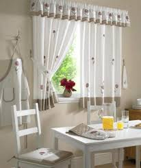 kitchen curtain ideas 16 best cortinas para cocina kitchen curtains images on