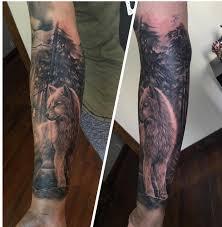 inner forearm wolf sleeve by kuuwolf on deviantart
