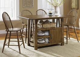 Kitchen Island With Table Seating Kitchen Island Table With Chairs Kenangorgun Com