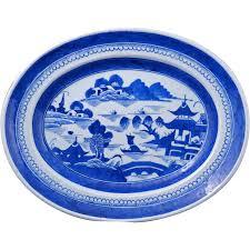 canton porcelain antique canton export porcelain blue and white 14