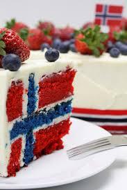 Flag Cake Images Flag Cake Norsk Flaggkake 17 E Mai Kake Flaggtårta Dellie
