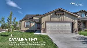 2 Car Garage With Loft Cbh Homes Catalina 1947 3 Bed 2 5 Bath 2 Car Garage Loft