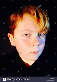 11 year boy with hair stock photo royalty free image