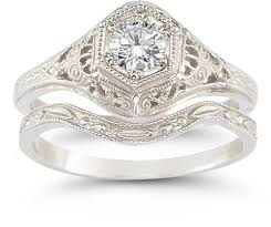 antique rings wedding images Vintage wedding rings jpg