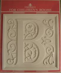monogram plaques monogram letter plaques cast in lightweight resin from my