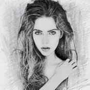 photo sketch splash my pencil drawing with portrait filter
