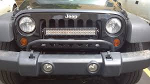 Installing Light Bar Mopar Light Bar Jeep Wrangler Forum