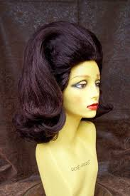 is long island medium hair a wig drag cabaret wig w713 1960s bouffant style drag theatrical