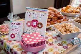kara u0027s party ideas donut themed birthday party kara u0027s party ideas